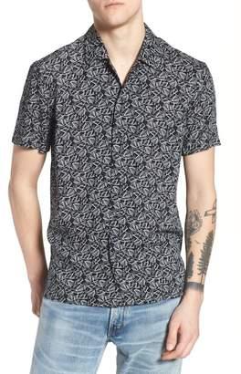 Eleven Paris ELEVENPARIS Spatial Print Woven Shirt