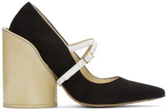 Jacquemus Black Suede Les Chaussures Beauduc Heels
