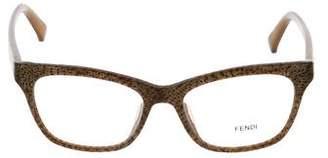 Fendi Marble Square Eyeglasses