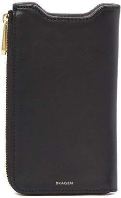 Skagen Lilli Leather Phone Wallet