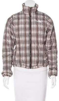 The North Face Plaid Down Jacket