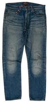 Beams Five Pocket Skinny Jeans