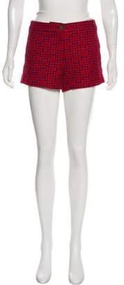 Tory Burch Mini Tweed Shorts