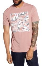 Ted Baker Stowart Slim Fit Bird Graphic T-Shirt