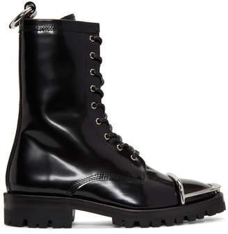 Alexander Wang Black Kennah Boots
