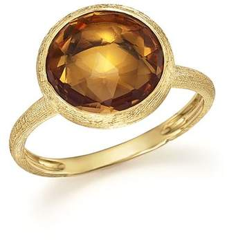 Marco Bicego 18K Yellow Gold Jaipur Ring with Citrine