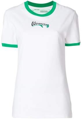 Off-White Woman print T-shirt