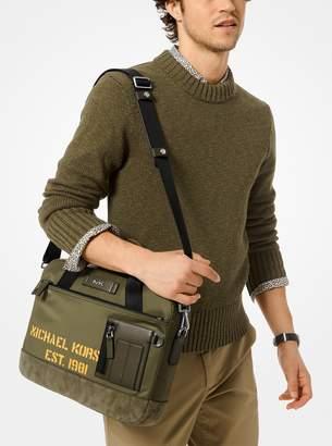 Michael Kors Greyson Slim Nylon Briefcase
