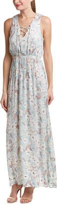 Sadie & Sage Lace-Up Maxi Dress