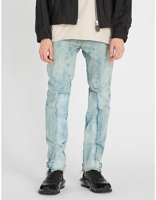 VAL KRISTOPHER Ankle Lock slim-fit straight-leg jeans