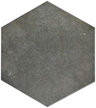 EliteTile SAMPLE - Annata Hex Porcelain Field Floor and Wall Tile in Marengo