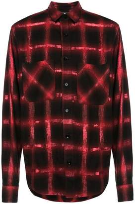 Amiri checked button-down shirt