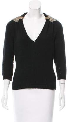 Gucci Cashmere & Wool-Blend Sweater