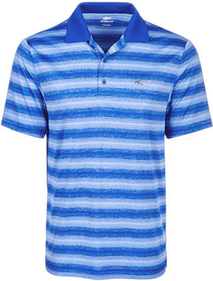 Greg Norman Attack Life by Men's Freemont Stripe Performance Polo, Created for Macy's