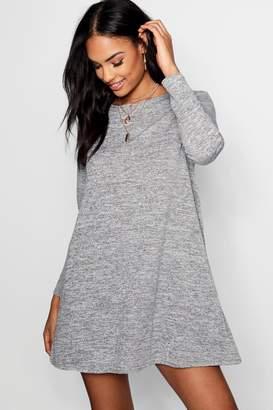 boohoo Knitted Swing Dress