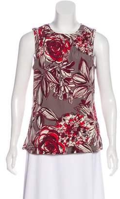 Trina Turk Floral Sleeveless Top