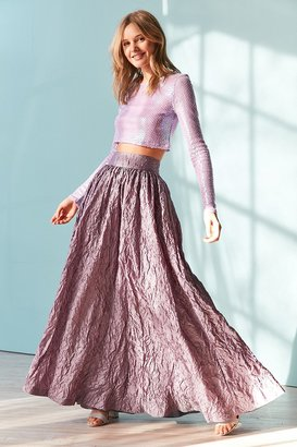 Kimchi Blue Enchantress Maxi Skirt $179 thestylecure.com