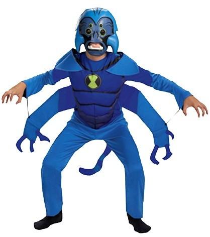 Ben 10 BuySeasons Boy's Spider Monkey Costume