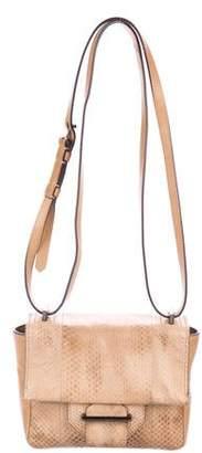 Reed Krakoff Snakeskin & Leather Shoulder Bag