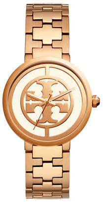 Tory Burch Reva Rose Goldtone Bracelet Watch