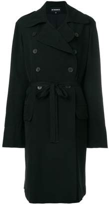 Ann Demeulemeester slim-fit buttoned coat