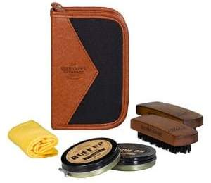 Gentlemen's Hardware Five-Piece Shoe Shine Kit