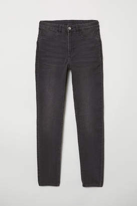 H&M Super Skinny High Jeans - Gray