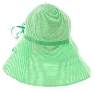 Eric Javits Raffia Wide-Brim Hat