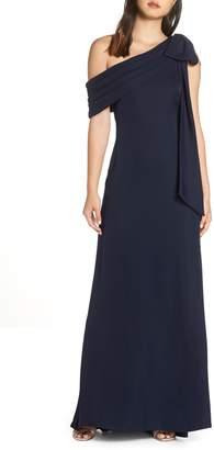 Tadashi Shoji Crepe Gown