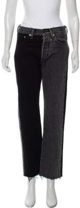 Vetements x Levi's High-Rise Straight-Leg Jeans Black x Levi's High-Rise Straight-Leg Jeans