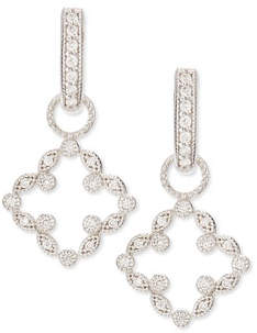 Jude Frances Open Marquise Pave Diamond Clover Earring Charms