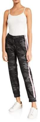 Velvet Aubree Camo Side-Stripe Jogger Pants