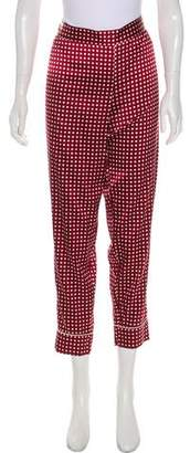 Stella McCartney Mid-Rise Straight-Leg Pants