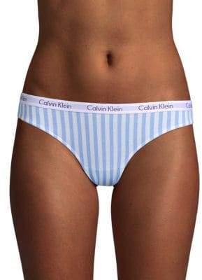 Calvin Klein Striped Bikini Panty