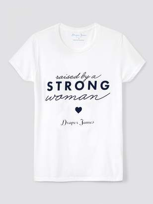 Draper James Raised By A Strong Woman Tee