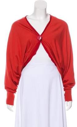 Lanvin Knit V-Neck Cardigan