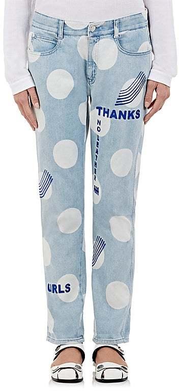 Stella McCartneyStella McCartney Women's Oversized Polka Dot Boyfriend Jeans