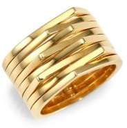 Repossi 18K Yellow Gold Stacked Ring