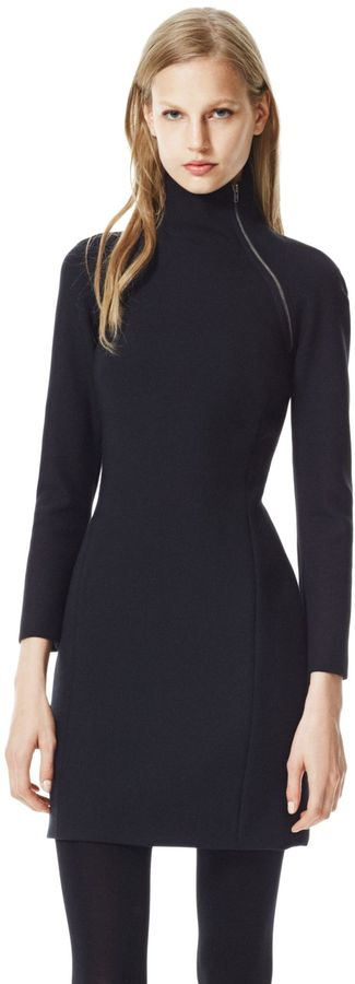 Theory Danella Dress in Edgewood Wool Blend