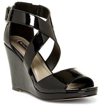 Michael Antonio Amis Patent Wedge Sandal $49 thestylecure.com