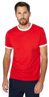 Red Herring Big And Tall Red Contrast Trim Slim Fit T-Shirt
