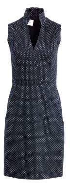 Akris Punto Polka Dot A-line Dress