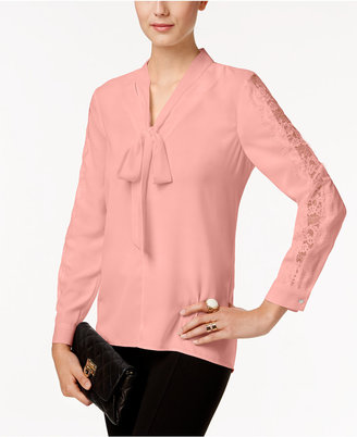 Vince Camuto Tie-Neck Blouse, A Macy's Exclusive Style $89 thestylecure.com