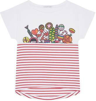 Marc Jacobs Miss Marc Candy Stripe T-Shirt