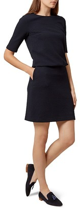 HOBBS LONDON Piper Textured Dress $165 thestylecure.com
