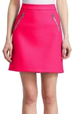 Moschino Zip Pocket Mini Skirt