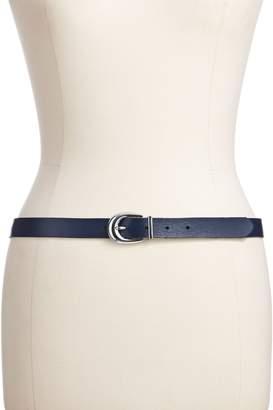 Lauren Ralph Lauren Gold Rush Reversible Leather Belt