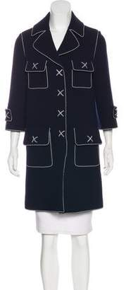 Andrew Gn Wool Knee-Length Coat