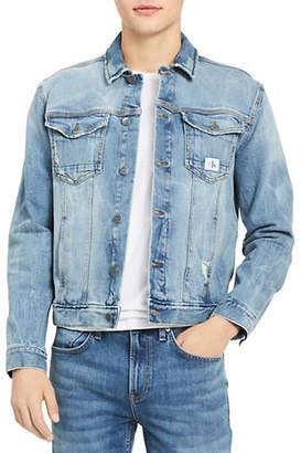 Calvin Klein Jeans Festival Denim Trucker Jacket