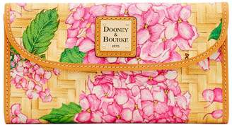 Dooney & Bourke Hydrangea Basketweave Continental Clutch